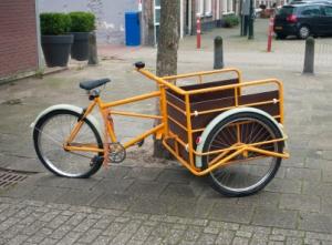 Dutch cargo bike
