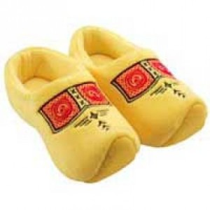 Dutch clog slippers
