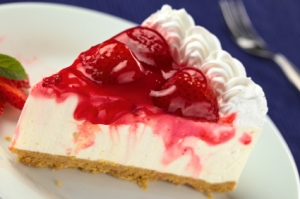 Dutch strawberry cheesecake