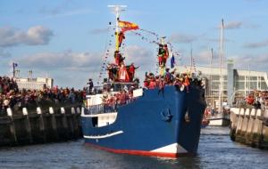 official arrival of Sinterklaas