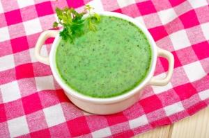 Kervelsoep (chervil soup)