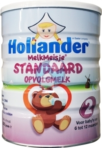 Hollander baby milk