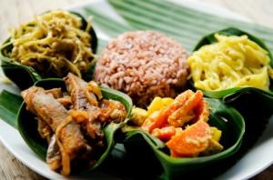 Indonesian rijsttafel