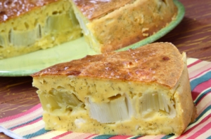 Leek pie recipe