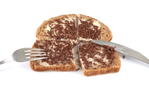 Dutch bread with chocolate sprinkles