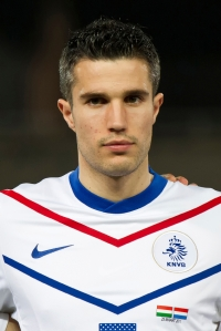 Dutch footballer Robin van Persie
