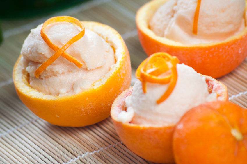 Oranje sorbet (orange sorbet) | Dutch Community