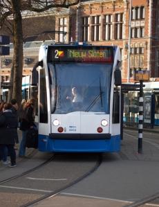 Amsterdam by tram