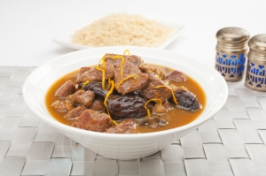 Lamb stew with prunes