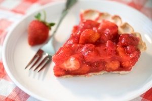 Dutch recipe for strawberry trat