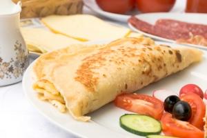 Dutch recipe for savoury pancakes