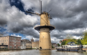 Nolet windmolen in the Netherlands